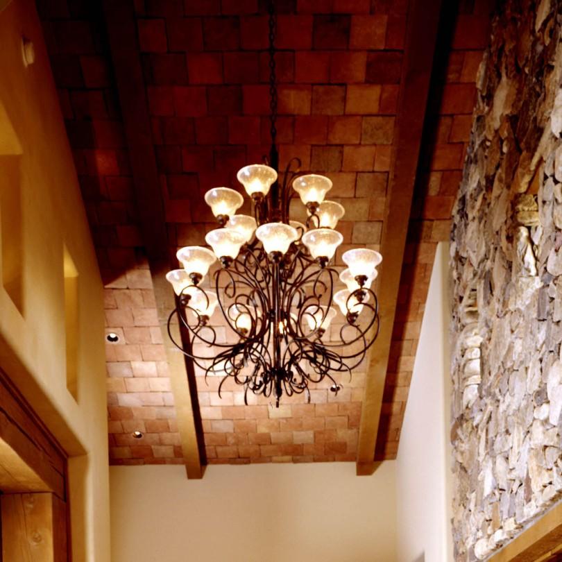 Candelabra ceiling