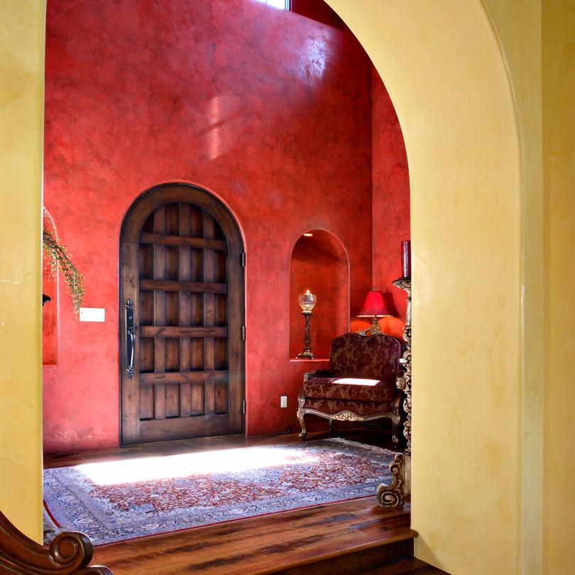Foyer With Arcs