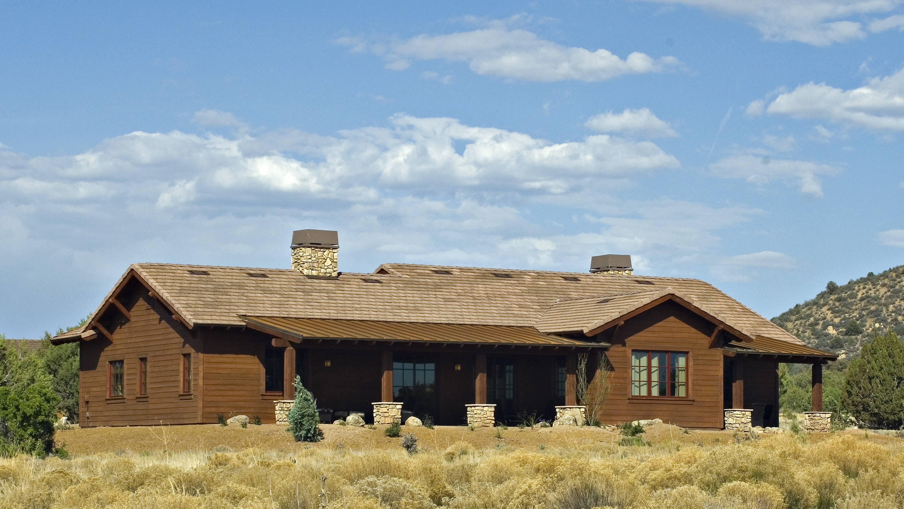 Rustic ranch homes fisher custom homes - What is a ranch house ...