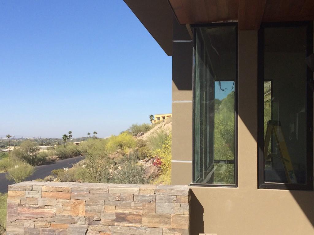 Paradise valley hillside custom home fisher custom homes for Terrace texture