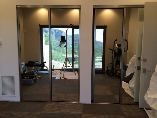 Exercise Room Closet