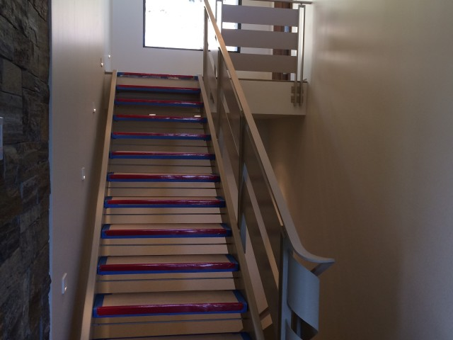 Stairs to Third Floor