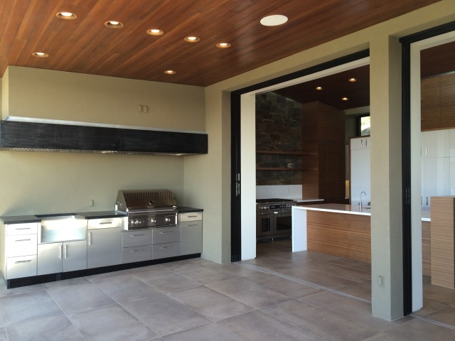Terrace Outdoor Kitchen, Kitchen