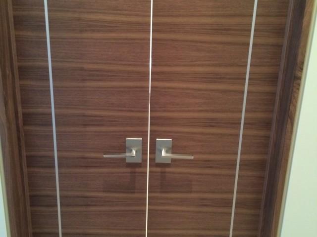 Master Bathroom Doors
