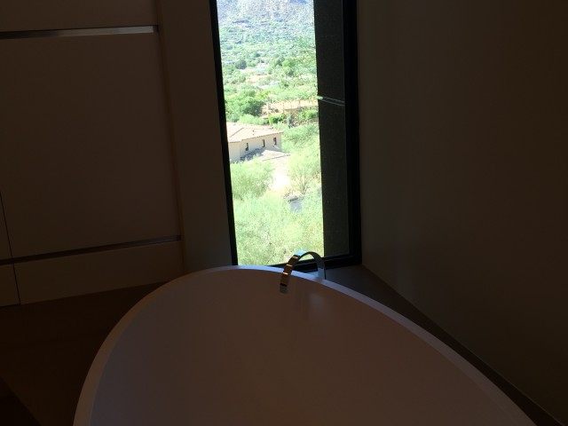 Master Bathroom View from Tub