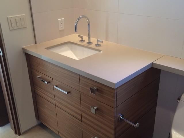 Her Office Bathroom Sink