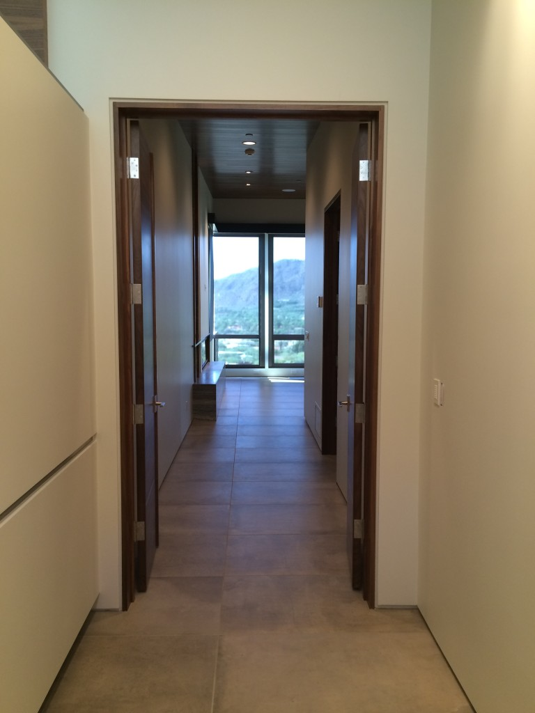 Uber cool custom paradise valley home fisher custom homes Hallway to master bedroom