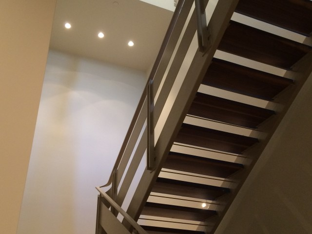 Stairs from Wine Room